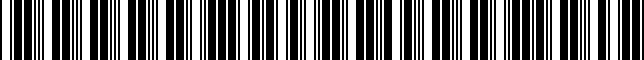 Barcode for 0000-88-0900-LK