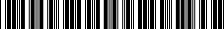 Barcode for 997961050A