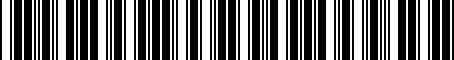 Barcode for LF8M189E1G