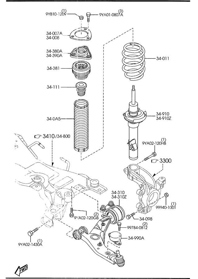 2007 mazda 5 parts diagram  mazda  auto parts catalog and