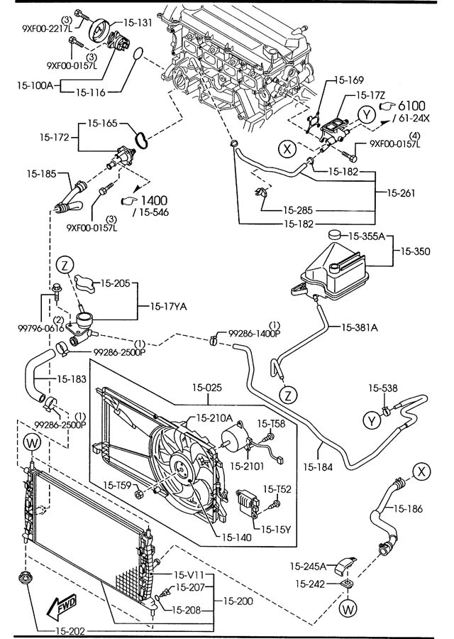 Lf7015170  Thermostat  Miata