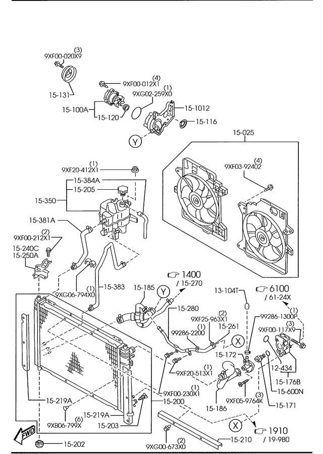 ford cd4e transmission diagram