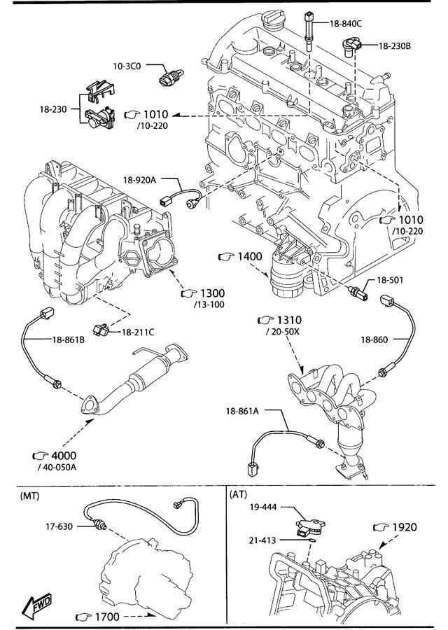 2002 mazda tribute parts discount factory oem mazda autos post