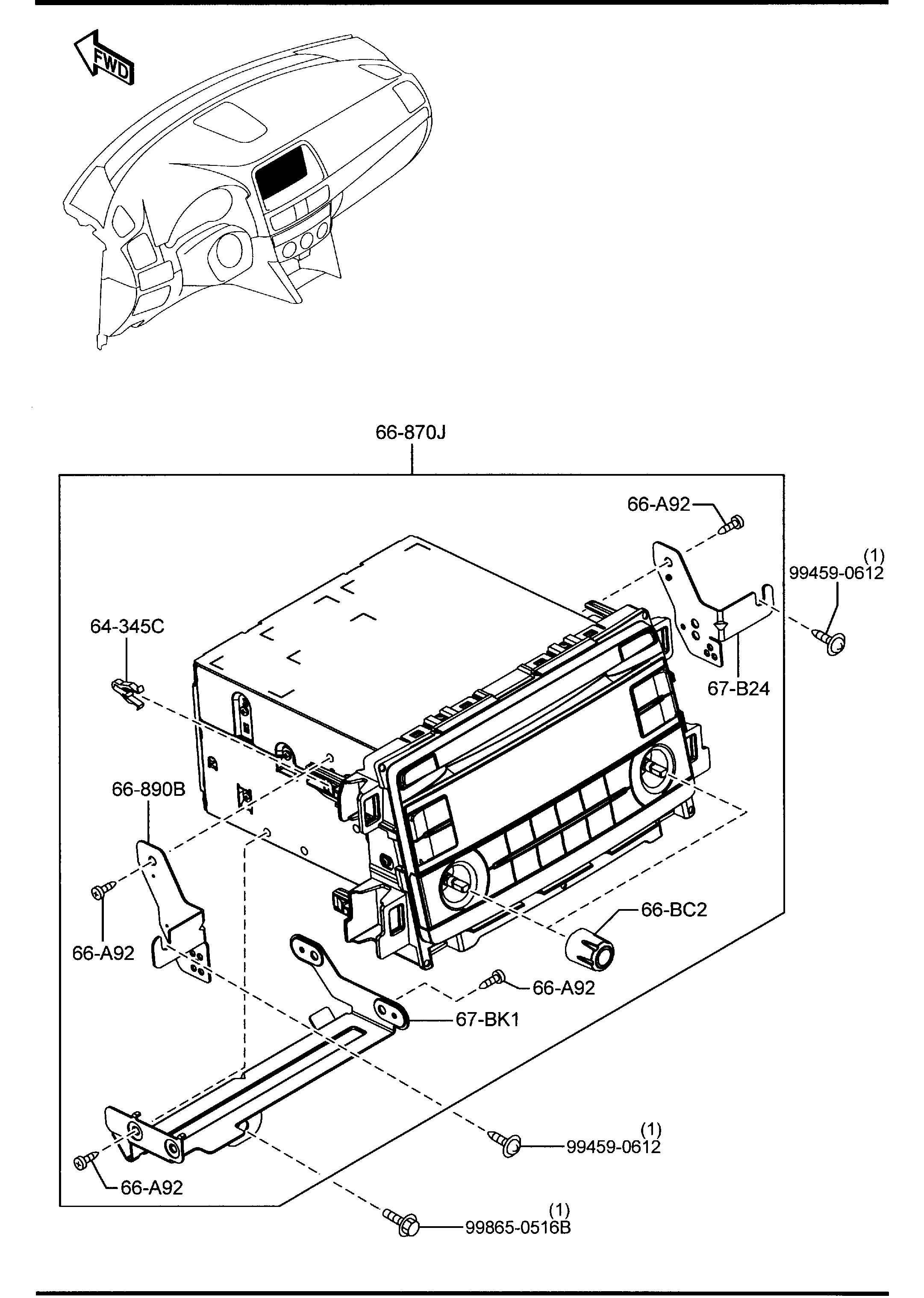 Mazda Cx-5 Audio Set