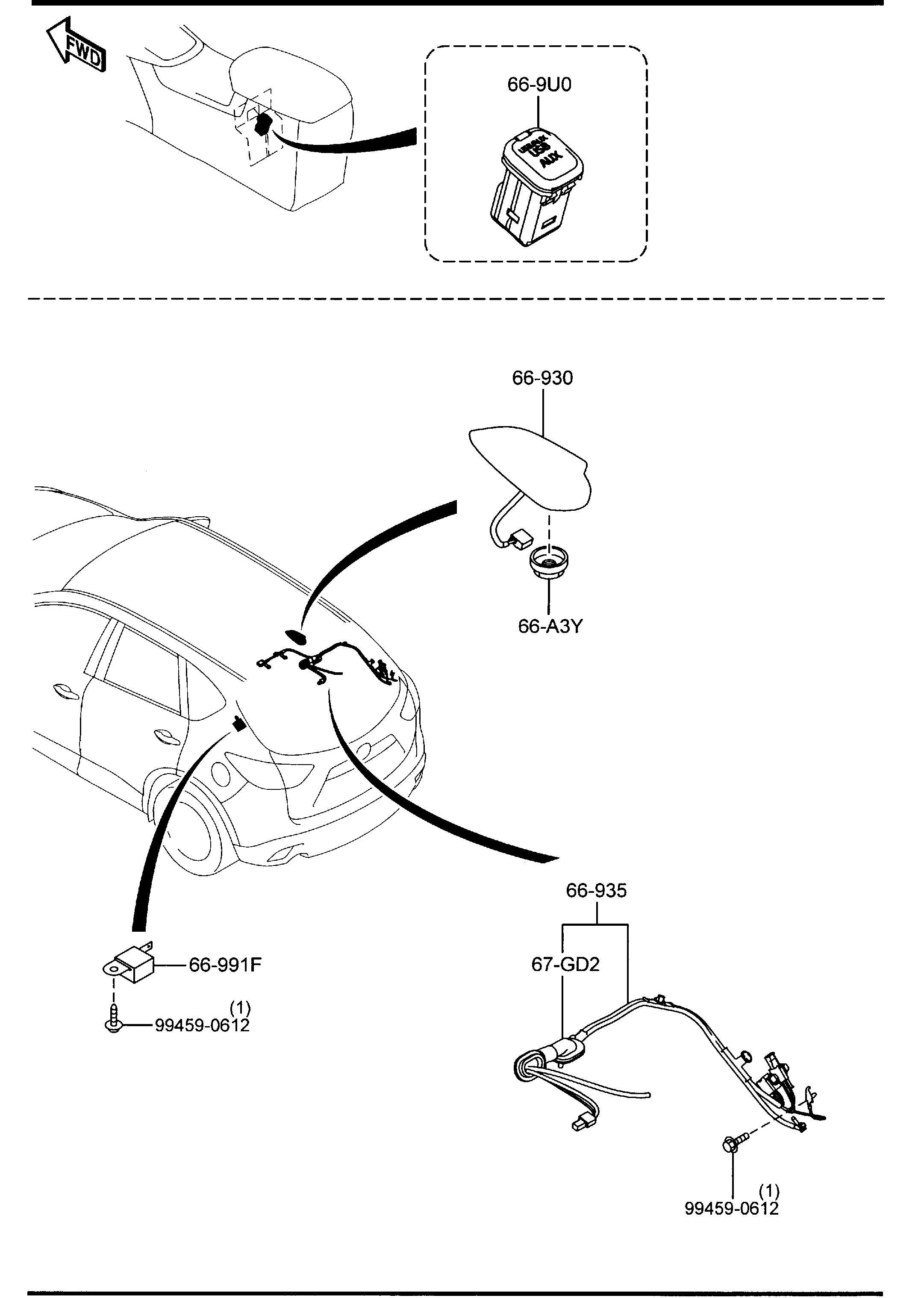 Mazda Cx-5 Amplifier  Power