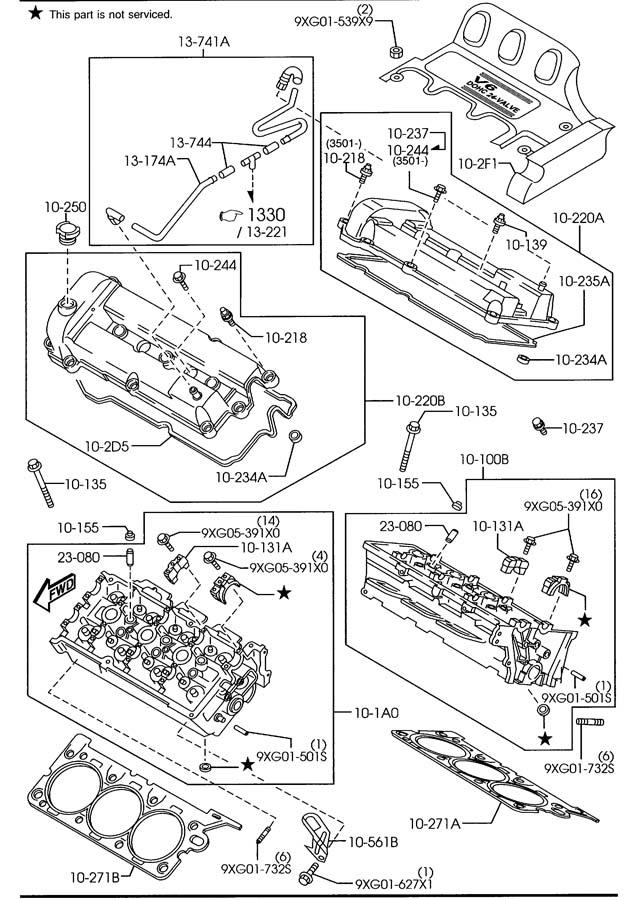 9XG12244X0 - Mazda Stud | Jim Ellis Mazda Parts, Atlanta GA