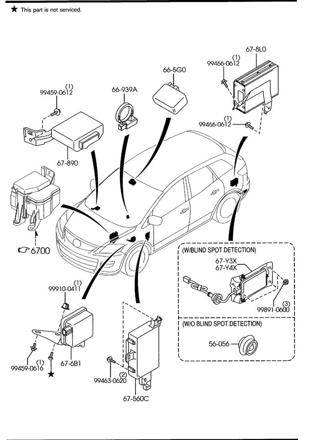 2008 mazda cx 9 body parts diagram  mazda  auto wiring diagram