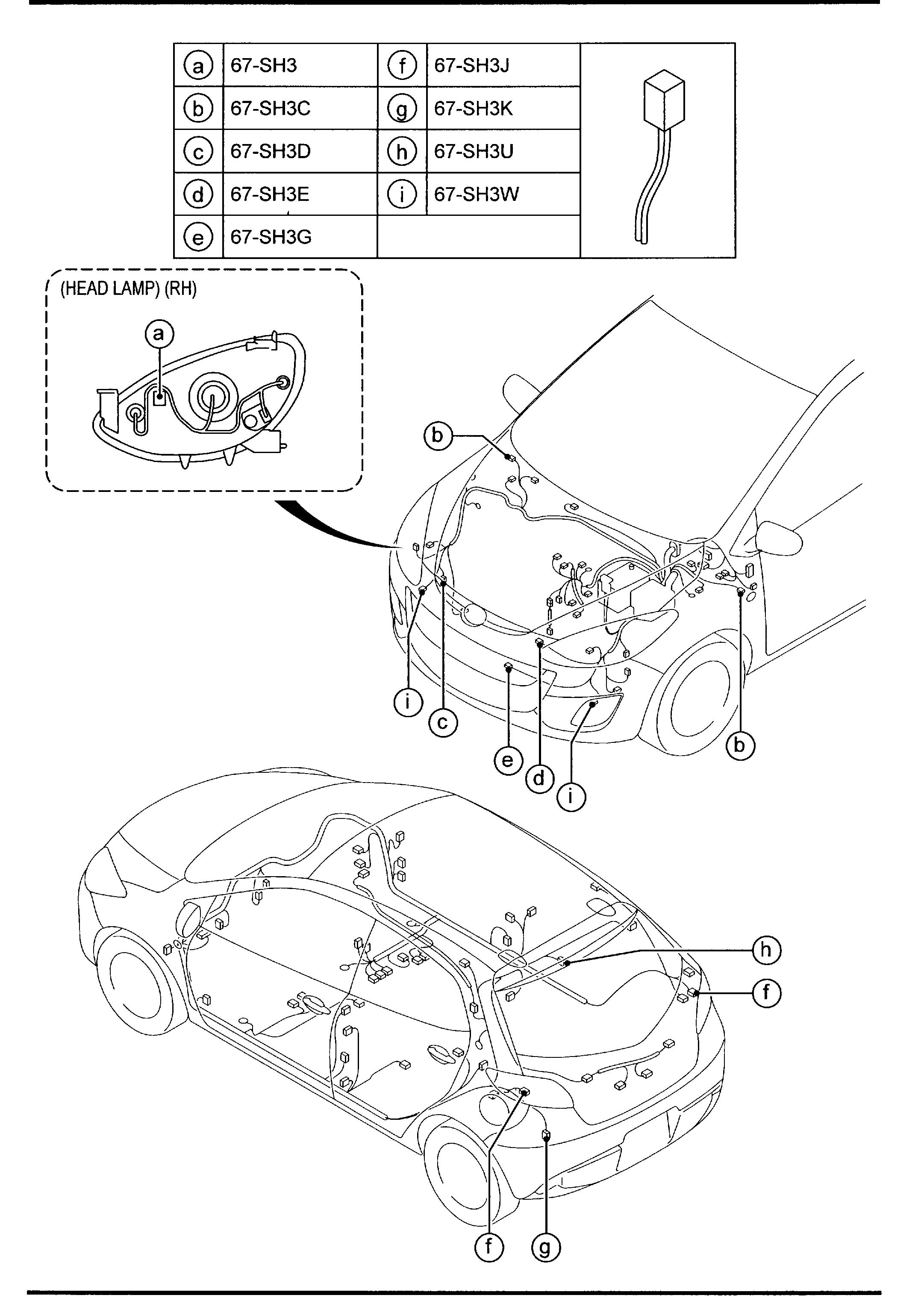 Mazda Cx-9 Relay  Blower  Typestd