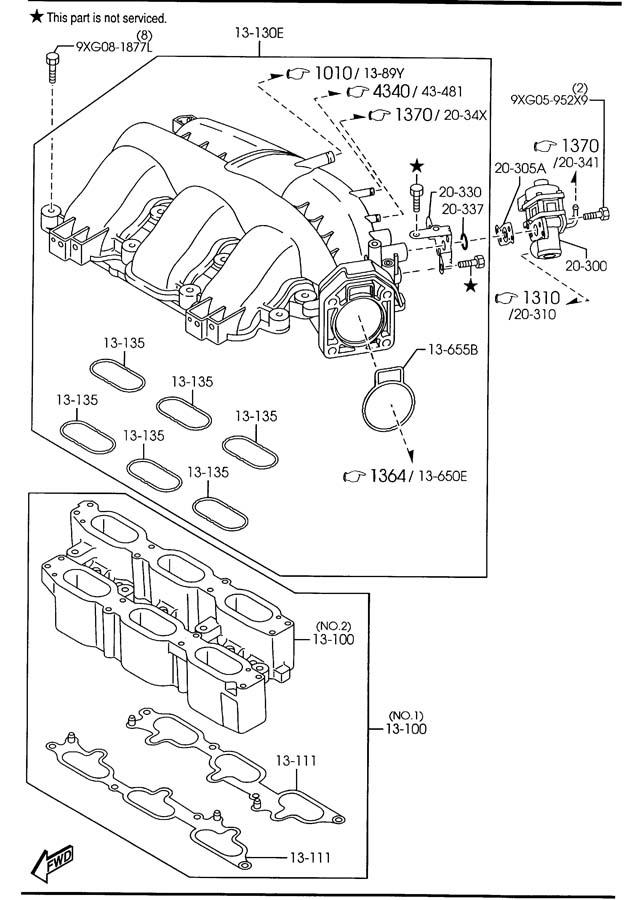 AJ5120300B9U - Mazda Egr valve | Jim Ellis Mazda Parts ...