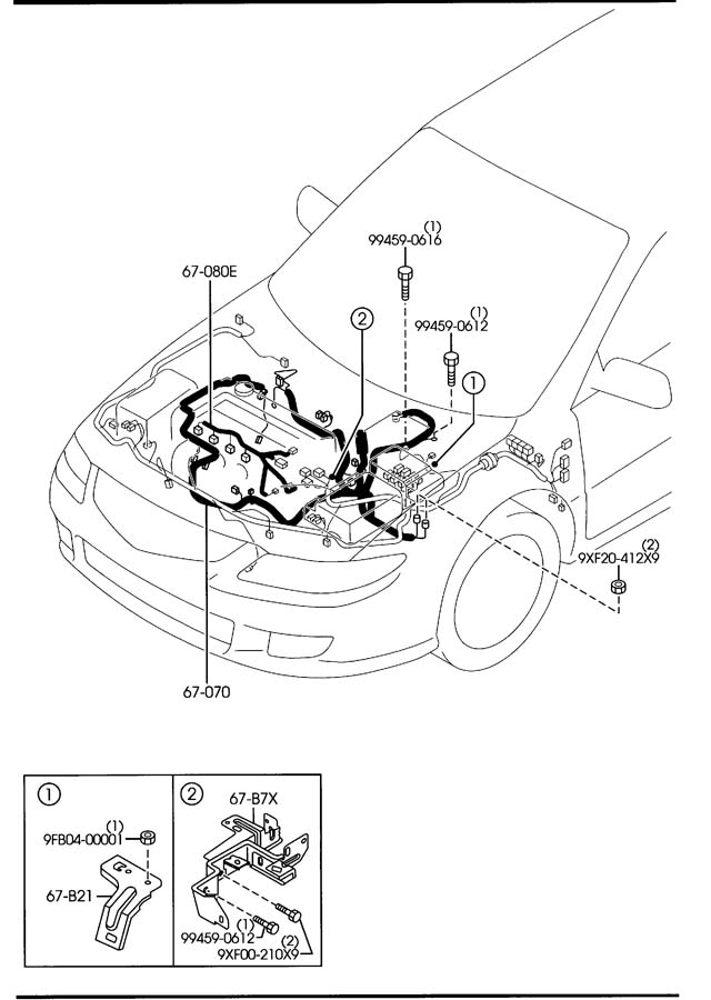 2G37341 2004 mazda 6 wiring harness 2004 wiring diagrams 2004 mazda 6 wiring harness lights at virtualis.co