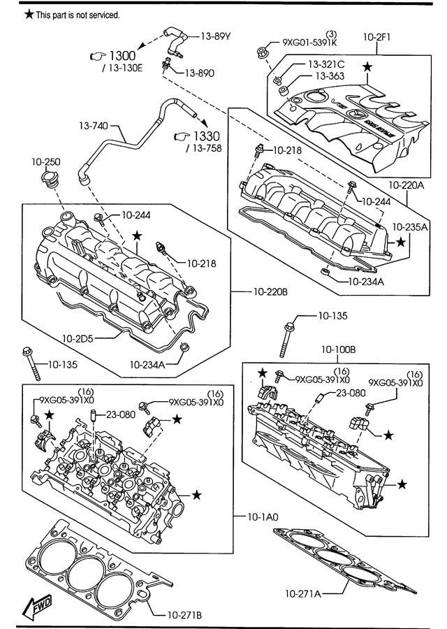 3 0l V6 Diagram