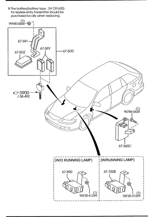 Gp7a67560e - Mazda Unit  Control