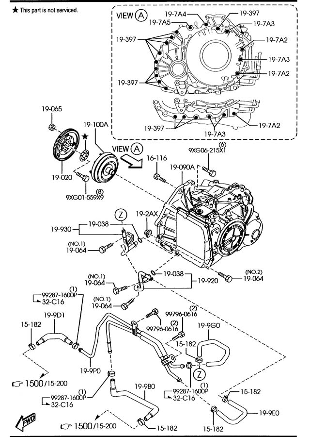 mazda 6 seat heater diagram