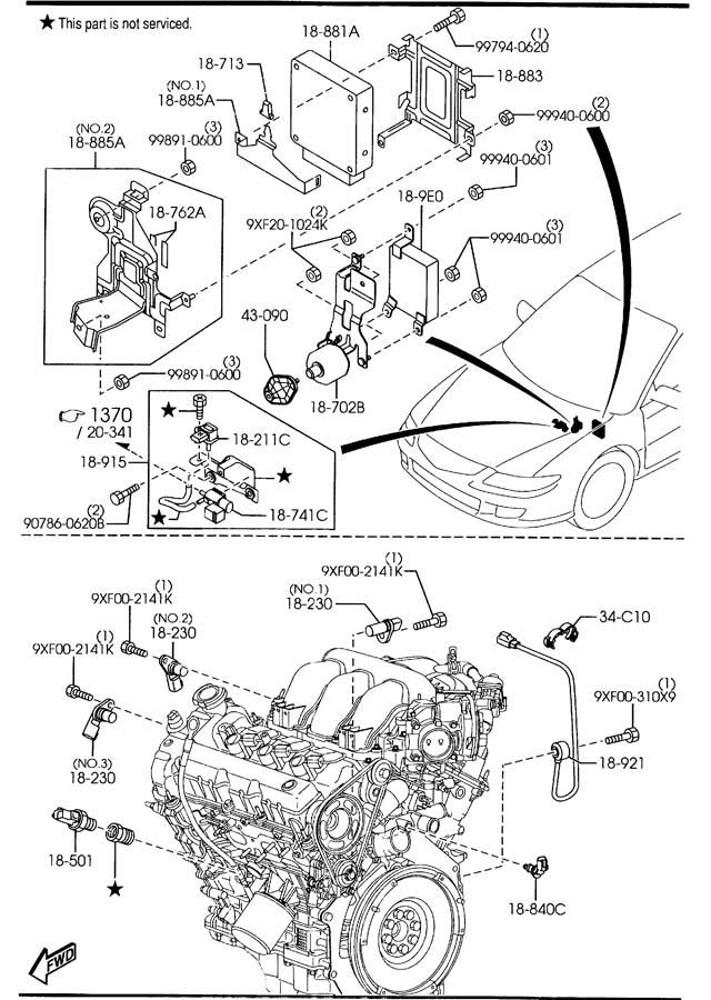 2000 mazda millenia 2 5 engine diagram  mazda  auto wiring