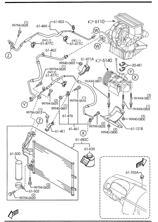 bp4k6146xa mazda pipe cooler high wpollen. Black Bedroom Furniture Sets. Home Design Ideas