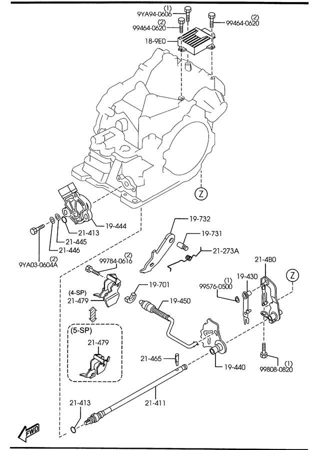 L32e189e1d - Mazda Module  Pwt Cont