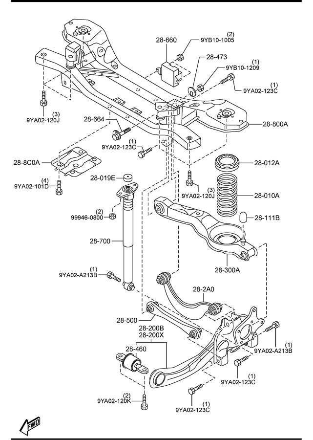ShowAssembly on 2010 Mazda 3 Wiring Diagram