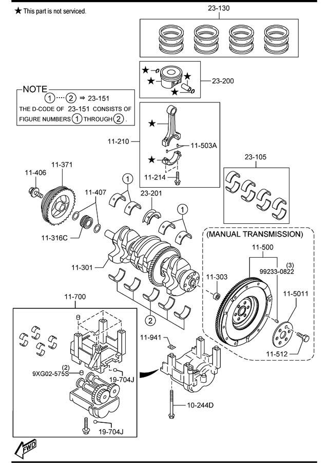 L3H511407     Mazda    Washer Transmissionmexico