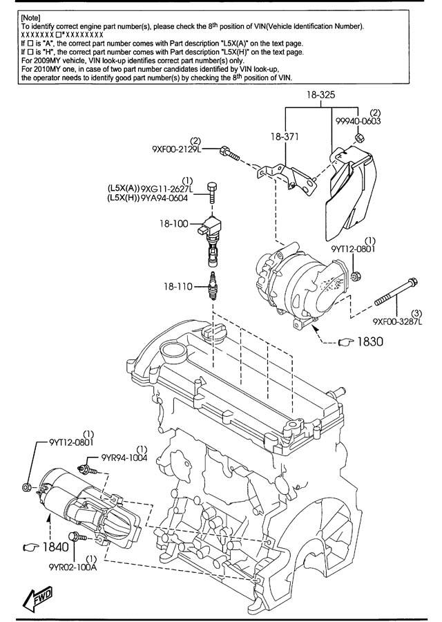 l3g218100b9u mazda ignition coil jim ellis mazda parts. Black Bedroom Furniture Sets. Home Design Ideas