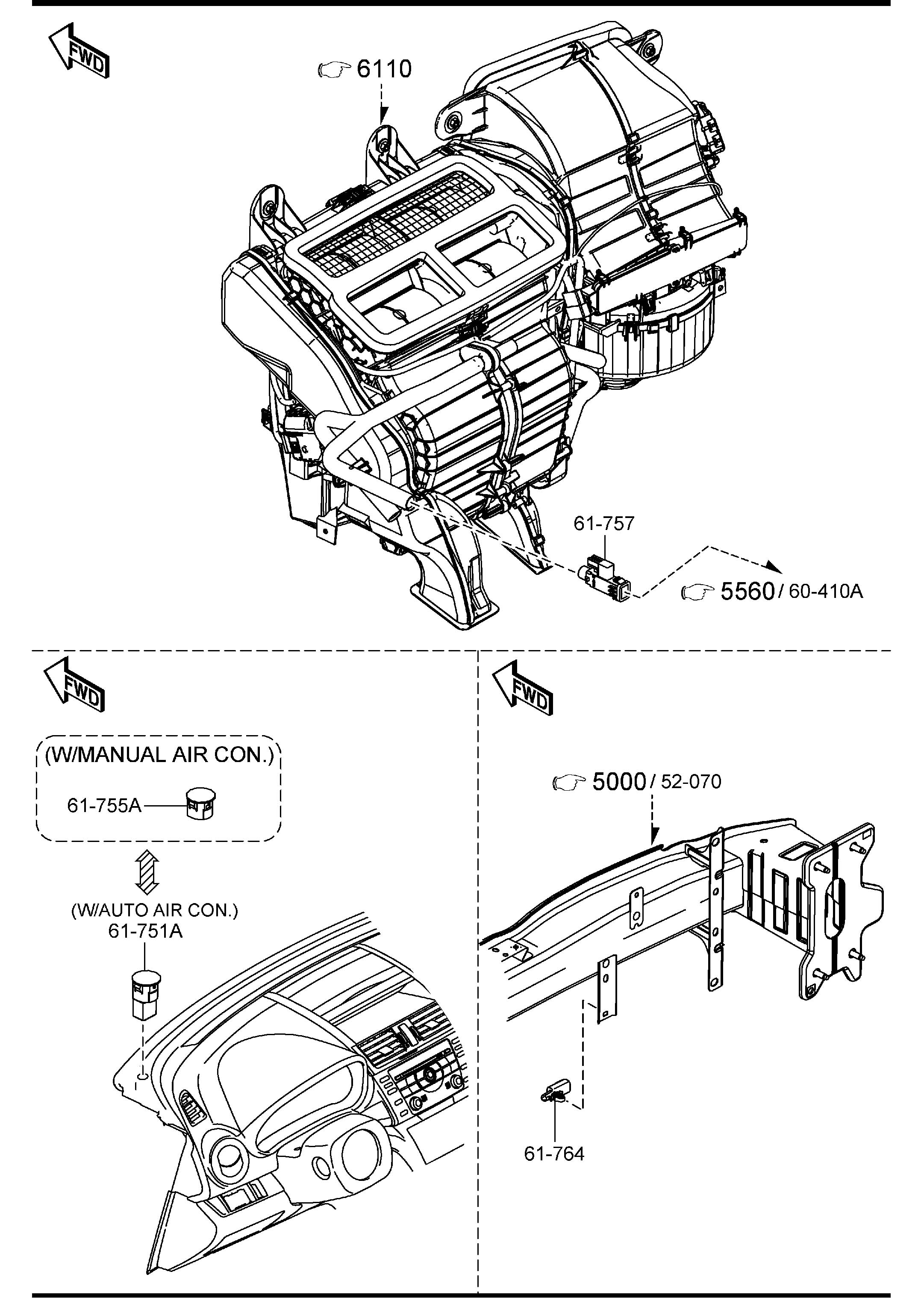 2012 Mazda Mazda 6 Bolt  Flange  Lines  Condenser