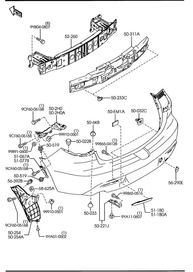 Mazda Mazda 3 Grommet