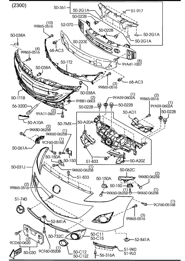 Mazda Suspension Diagram