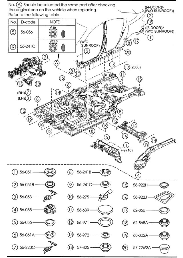 diagram  2002 mazda 626 fuse box diagram full version hd