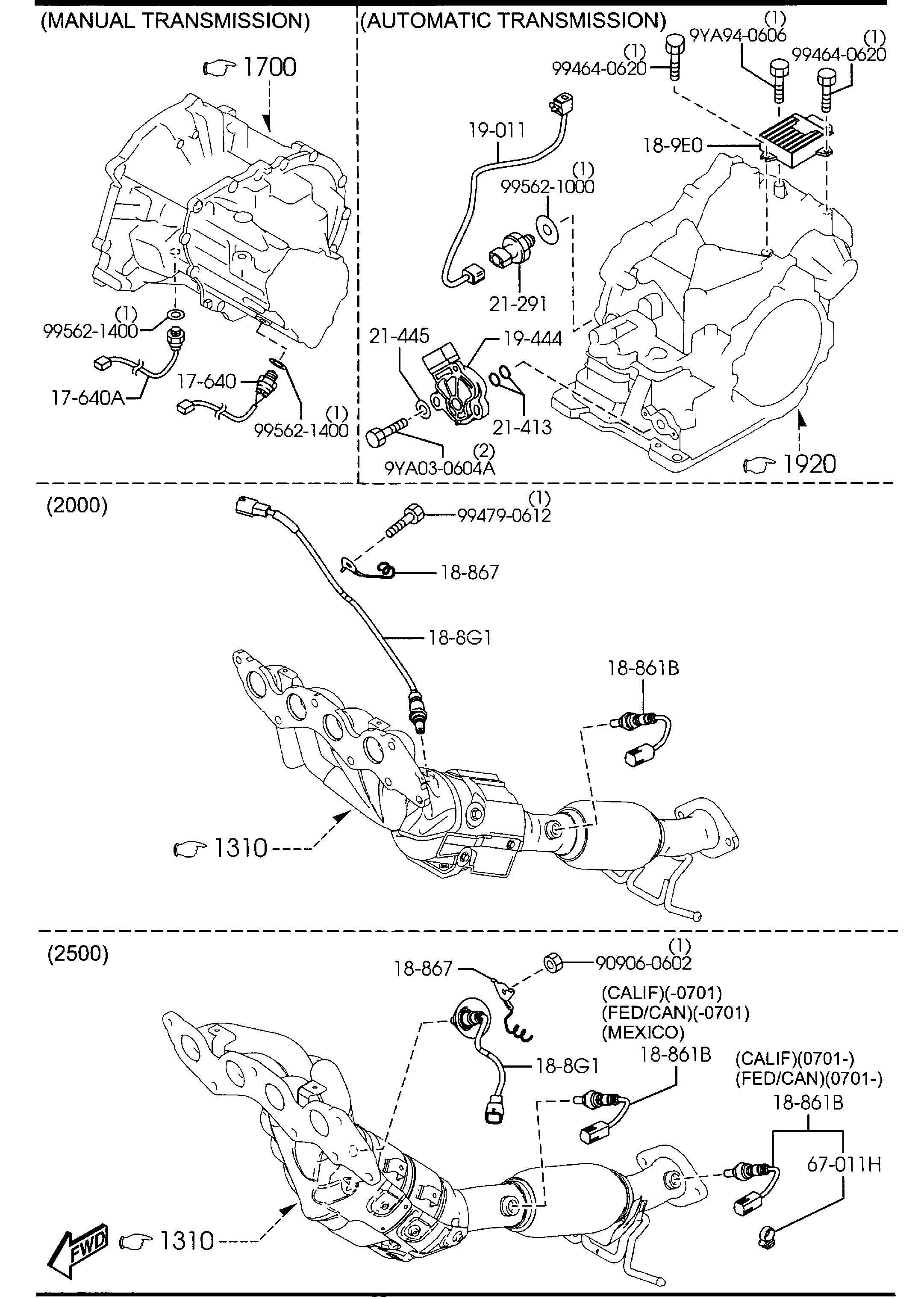 Mazda Mazda 3 Module  Pwt Cont