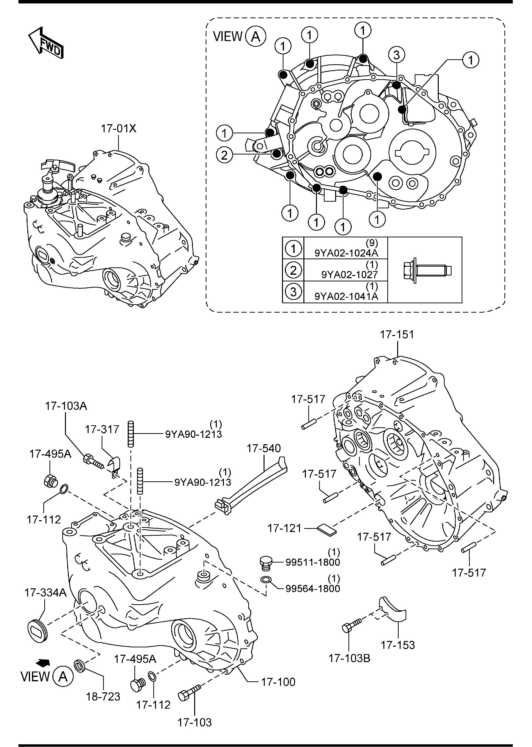 mazda transmission parts diagrams  u2022 wiring diagram for free