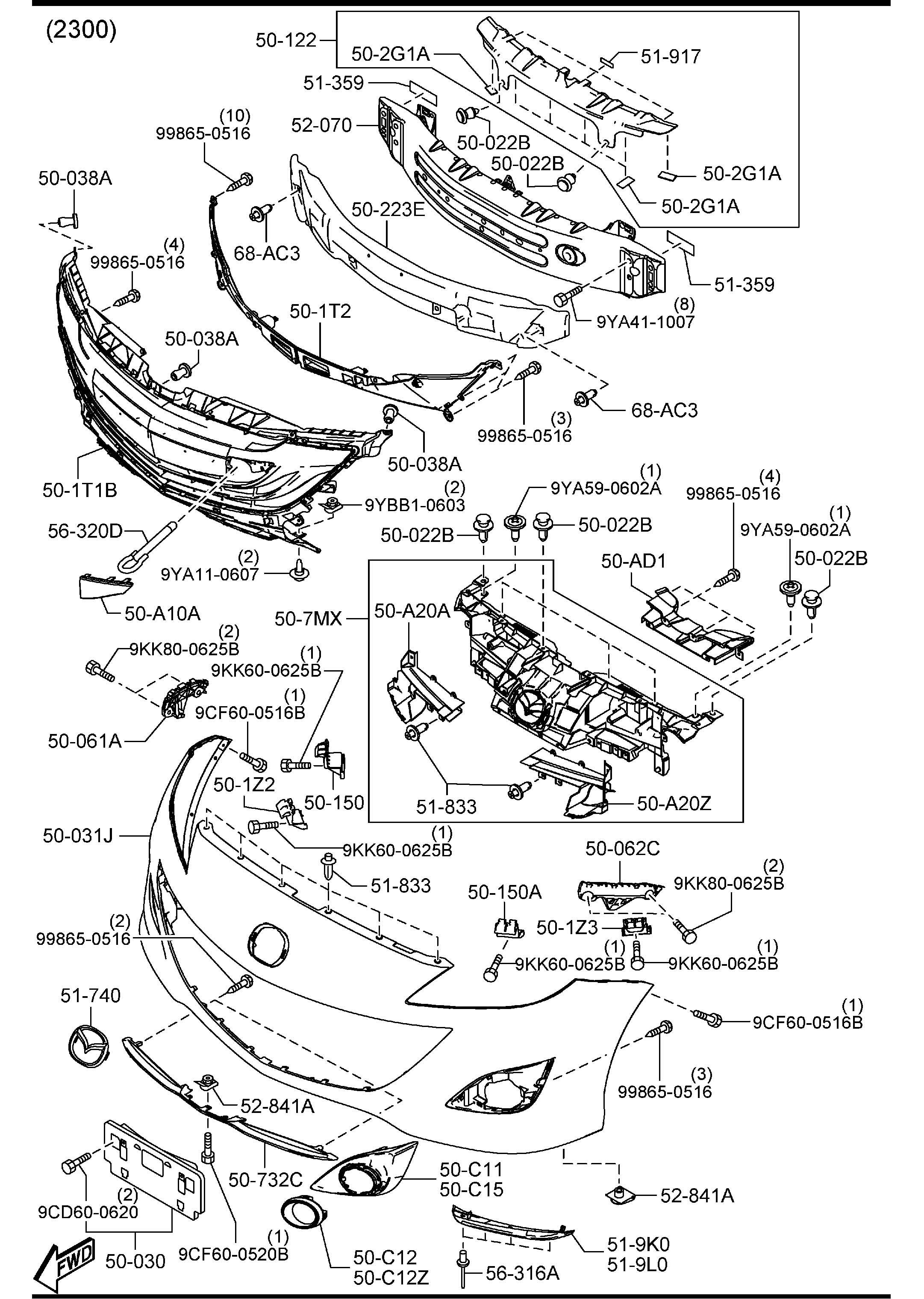 Parts  Mazda Parts