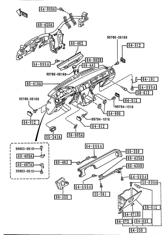 1991 Mazda Miata Screw  U0026 Washer  Dual  Mana