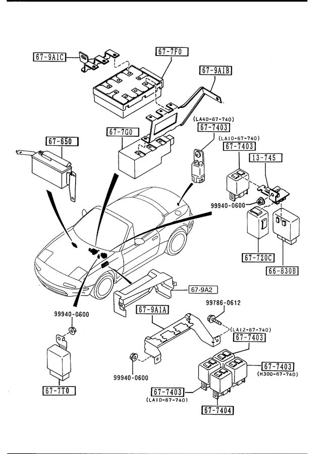 1999 Ford Taurus Schematic