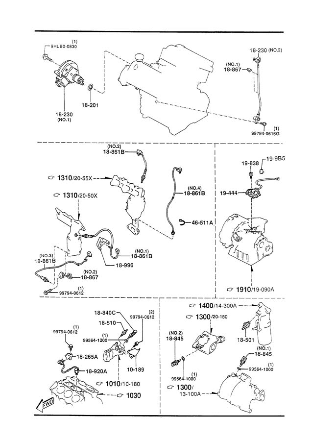 Mazda Millenia Boost Sensor
