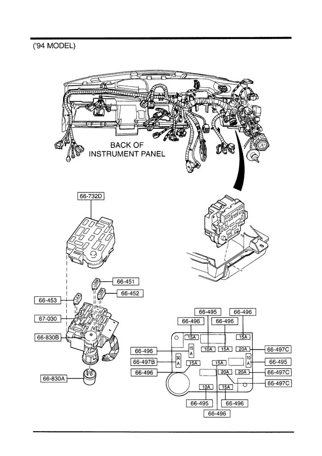 2010 Mazda 3 Wiring Harness Diagram : Mazda stereo speaker wiring diagram diagrams