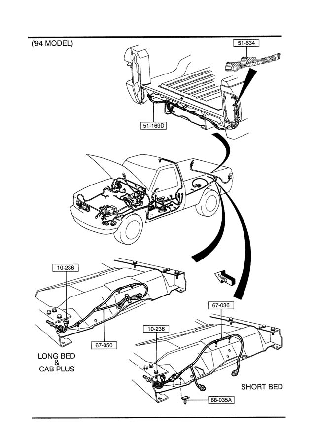 1989 mazda b2200 ignition diagram