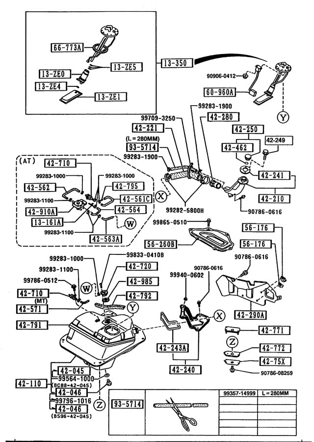 wiring diagram for 91 mazda b2600i fuel pump
