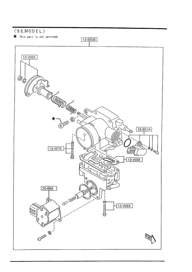 2001 Tribute Manual Transmission Diagrams