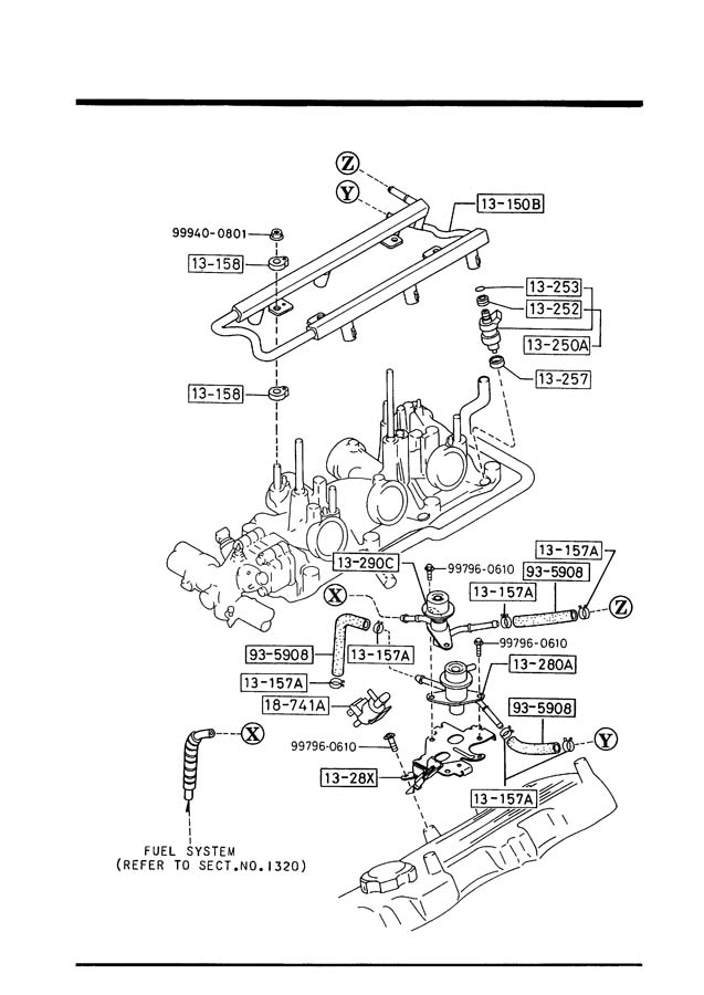 Mazda MPV Pressure regulator - JE0713280A | Jim Ellis ...