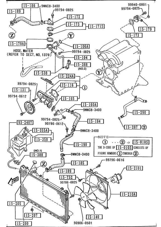 1997 mazda miata engine diagram wiring source u2022 rh 45 77 118 242 Pulley 1994 Mazda Miata 1994 Mazda Miata MX-5