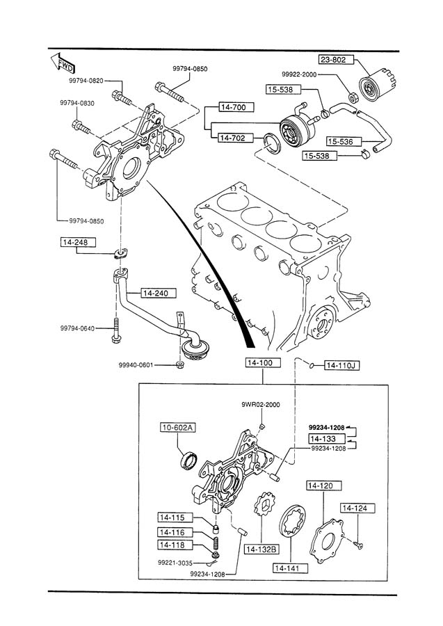 service manual  oil pump removal procedure for a 1985