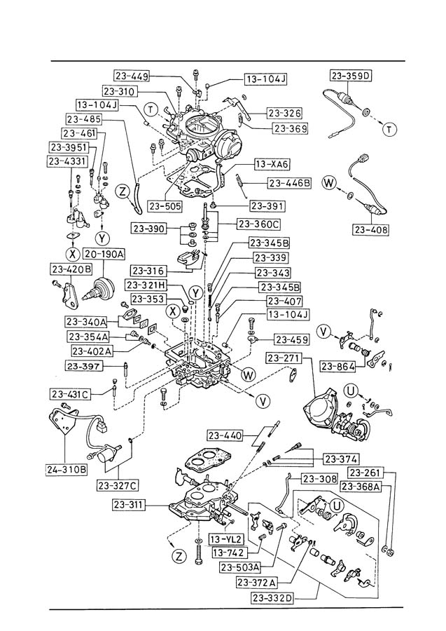 1989 mazda b2200 vacuum diagram 1989 free engine image for user manual