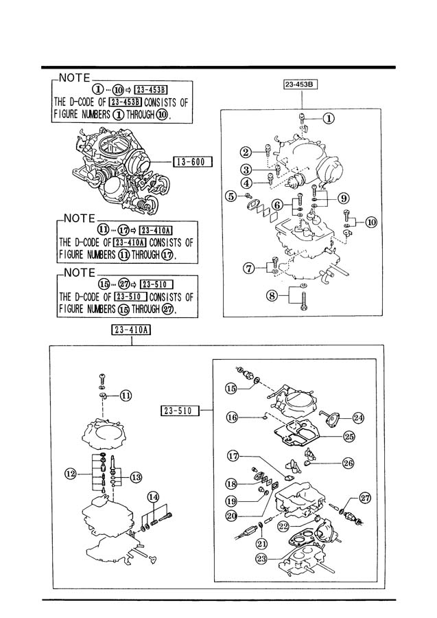 Mazda Carburetor Manual Pictures