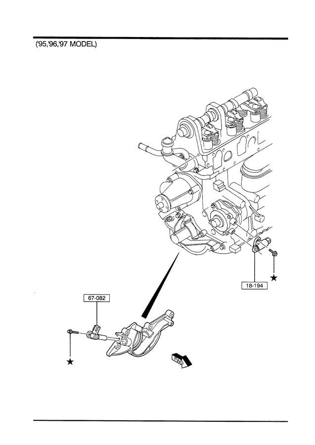 1991 mazda b2600i wiring diagram fuel control pump wiring
