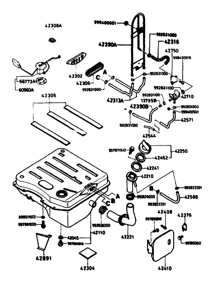 1986 Mazda B2000 Hose, vent. Cut - 9935714999 | Jim Ellis ...