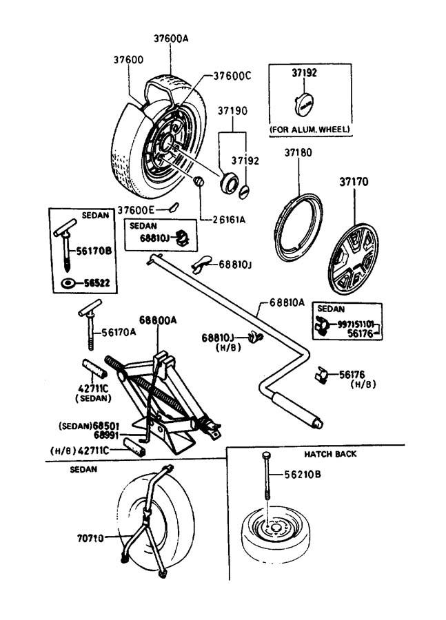 2002 mazda protege 5 hub nut  bright  steel  fed