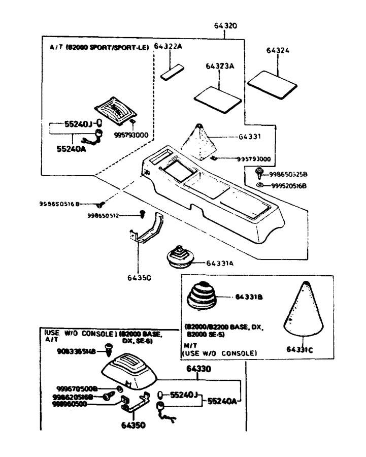 Jim Ellis Mazda Marietta Home: 1983 Mazda B2000 CONSOLE