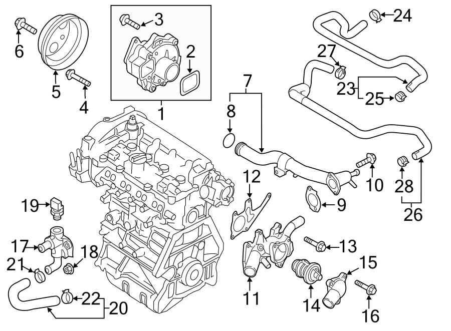 2016 Mazda Sensor  Temp